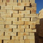 Dapple Travertine FBS Semiface Brick